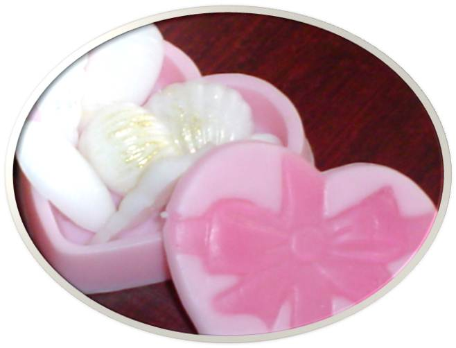 soap heart box